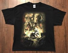 THE LEGEND OF ZELDA TWILIGHT PRINCESS T-SHIRT XLARGE  Nintendo Vtg Video Game