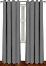 Utopia Bedding Blackout Curtains - Gray (UB0120)