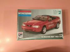 Monogram # 2975, '94 Mustang Indy' pace car, produced in1994,  NOS kit,