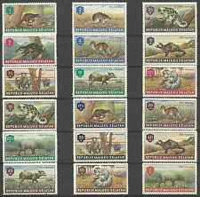 Timbres Animaux Moluques du Sud ** lot 26094
