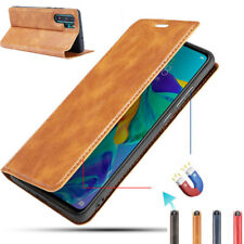 Genuine Leather Wallet Flip Case Cover For Samsung Galaxy Note 10 Plus S10 S9 S8
