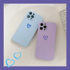 For iPhone 12 11 Pro Max XR XS 7 8 Shockproof Love Heart Slim PC Hard Case Cover
