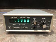 Yaesu digital display Frequency Counter YC-601 for FT-101