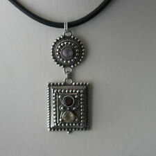 "Handmade Less than 13"" Round Fine Necklaces & Pendants"
