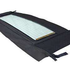 Saab 900 Convertible Top, 86-94, Black German Cloth, Window Section Only