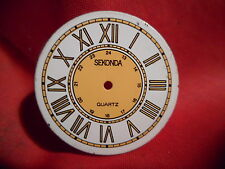 SEKONDA WATCH DIAL MENS  ROMAN NUMERALS 26MM ROUND NICE DIAL !