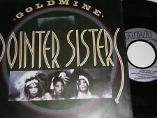 """7"""" - Pointer Sisters Goldmine & Sexual Power - 1986 # 5708"""