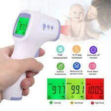 Infrarot Digital Fieberthermometer Stirnthermometer Kontaktlos Baby Erwachsene