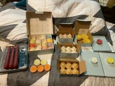 PARTYLITE CANDLE LOT VOTIVE - TEA LIGHTS - TAPER CANDLES