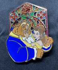 Disney Beauty & The Beast Belle Disney Auction Le 100 Stained Glass Jumbo Pin