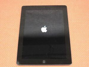 """Apple iPad 4 A1460 9.7"""" 32GB Silver Wi-Fi 4G Sprint Tablet *Tested Working*"""