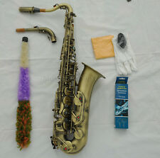 Professional Antique C Melody sax saxophone abalone shell key high F# with case