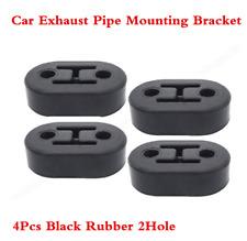 4Pcs 11.5mm Car Rubber Exhaust Tail Pipe Mount Brackets Hanger Insulator 2Hole