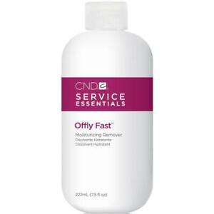 CND Shellac Essentials OFFLY FAST Moisturizing Nourishing Nail Gel Remover 7.5oz