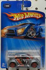 VW VOLKSWAGEN BEETLE CUP DRIFT RACE CAR 142 2005 SILVER GREY HW HOT WHEELS