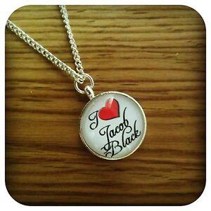 Twilight  MINI I love Jacob pendant necklace