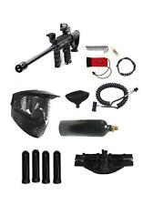 """Tippmann 98 Custom Paintball Gun Sniper 18"""" Barrel, Stock,Red Dot 4+1 Pack 20 oz"""