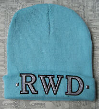 RWD BEANIE BLUE HAT SWAG DOPE STREET WEAR RAVE HIPSTER BEENIE FASHION