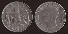 1 LIRA 1940 IMPERO MAGNETICA - VITTORIO EMANUELE III - SPL