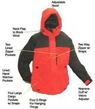 Arctic Armor Floating Extreme Weather Jacket Red Large