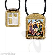Ladanka vierteilige geweiht Hl. Dreifaltigkeit  ладанка Троица