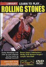 LICK LIBRARY Learn to Play ROLLING STONES BROWN SUGAR Rock Guitar DVD VOL.1
