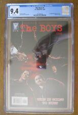 DC Wildstorm - The BOYS # 1 CGC 9.4 - 1st App of Butcher Hughie A-Train Terror