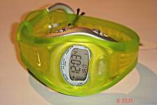 Nike Tempest Flow Digital Lime Sports Watch 3-302 BOGOF Unisex RARE + Box