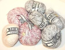 Lot of 7 Skeins Welcomme L' Hispano Various Colors Yarn