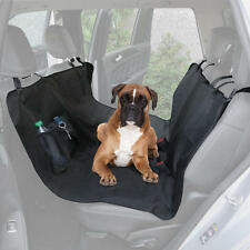 Dog Seat Cover Bench for Car Protector Automotive Pet Split Zipper w/ Pockets