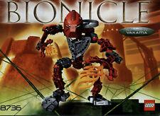 Lego Bionicle # 8736 Toa Hordika Vakama - Bauanleitung (keine Steine!)