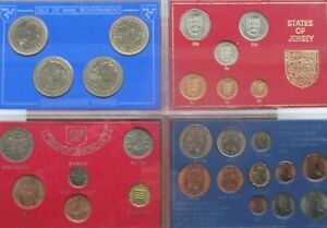 United Kingdom - Cased Coin Sets