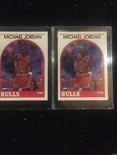 1989 89/90 NBA Hoops Michael Jordan #200 Lot Of 2