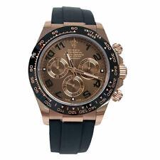 Rolex Daytona Everose Rose Gold Ceramic Bezel Oysterflex 116515 40mm