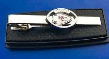 KC Chiefs Tie Clip Kansas City Chiefs Logo Tie Bar Football Tie Clasp NEW