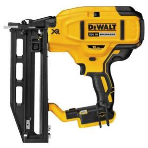 DeWALT DCN662B 20V MAX XR 16-Gauge Cordless Straight Finish Nailer - Bare Tool