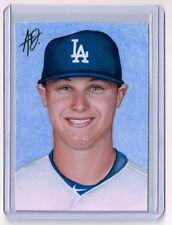 2015 ACEO Sketch Card JOC PEDERSON Los Angeles Dodgers 1/1