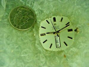 Hamilton 827 Automatic Movement and Dial for Parts