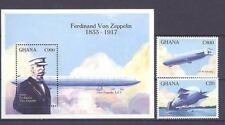 Luftschiffe, Zeppeline - Ghana - ** MNH 1993