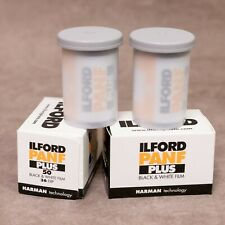 4x ILFORD PAN-F Plus - Black & White 35mm 36exp Film - FRESH STOCK