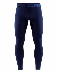 CRAFT Warm Intensity Pants M, Men's, Underwear, Underpants, Very Warm, Blue