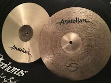 "NEW 14"" Anatolian Jazz Collection Sparkle Hi Hats"