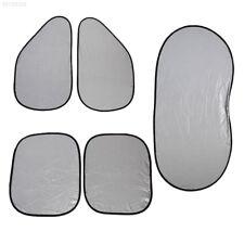 1383 6pcs/set Car Automobile Front Window Sun Shade Foldable Shield Visor Block