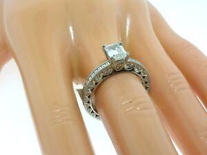TACORI PLATINUM HT2273 MOUNTING 1.00 CTW DIAMONDS + BOX-SIZE 6.5 US-RETAIL $7230