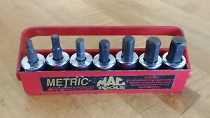 "MAC Tools 3/8"" Drive 7 Pc Metric Hex Socket Driver Set SXMA7PT"