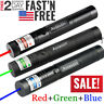 3 Packs 900Miles Green Red Blue Purple Laser Pointer Pen Focus/Zoom Beam Lazer