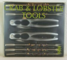 Crab & Lobster Tools RSVP Endurance Beaded Jeweled Decorated 8 Piece Set NEW