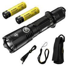 NITECORE MH25GTS 1800 Lumen Rechargeable Tactical Flashlight with 2 Batteries