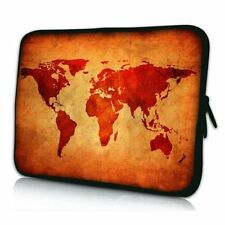 Pedea Custodia per Laptop 17 3 pollici (43 9 Cm) Neoprene Brwon Global Map