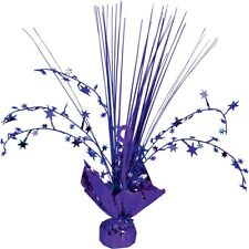 Purple Stars Spray Table CENTREPIECE Decoration wedding Purple Party Decorations